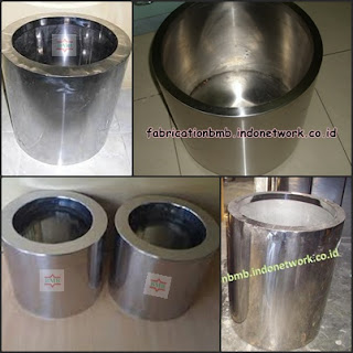 pot bunga stainless murah