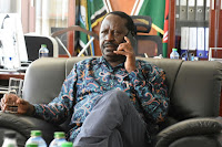RAILA ODINGA says he is ready to dialogue if only UHURU agrees on Mkate Nusu Government or fresh credible elections