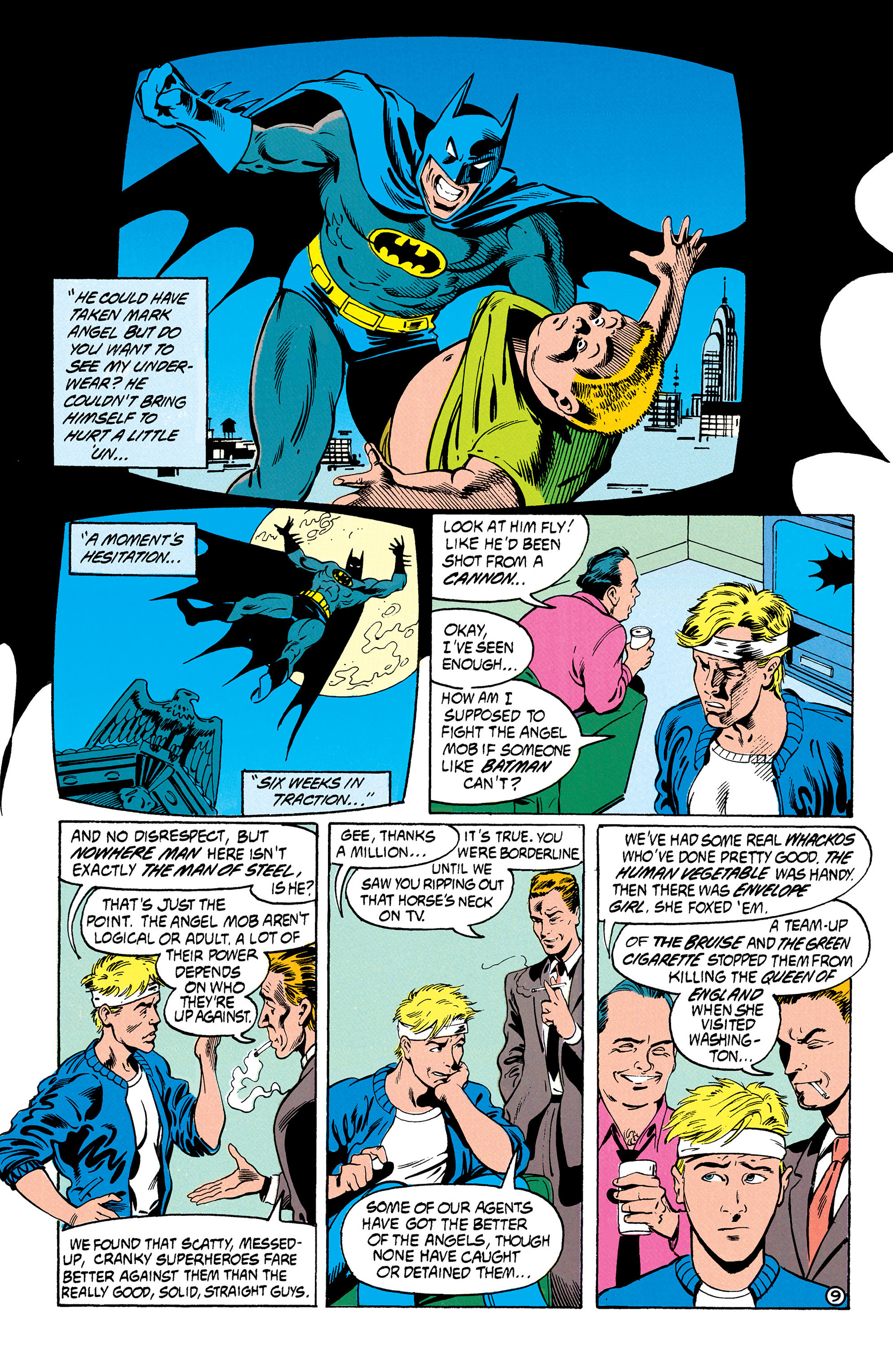 Read online Animal Man (1988) comic -  Issue #30 - 10