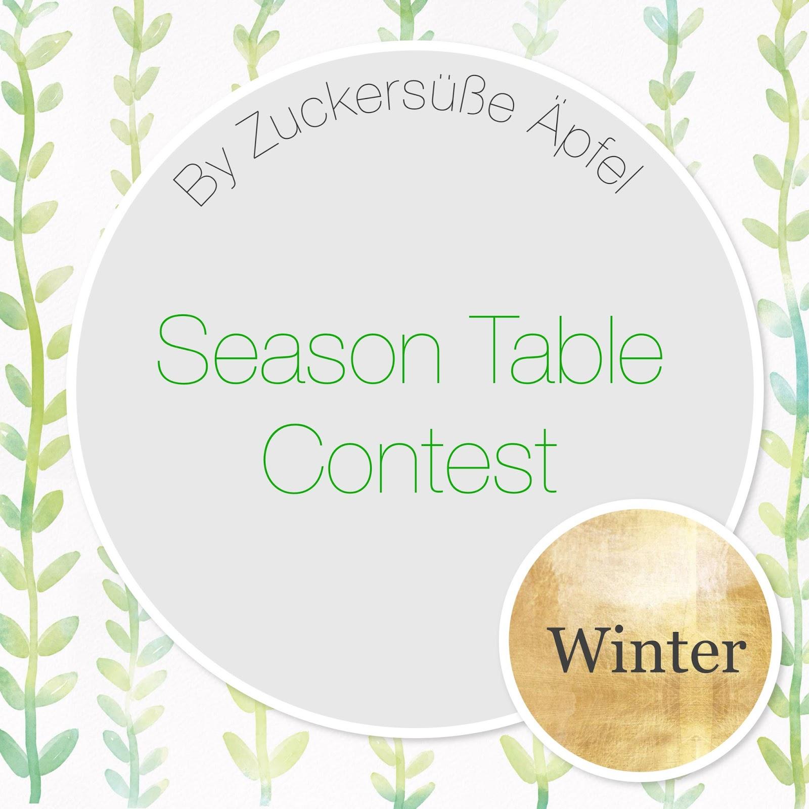 Zeigt Eure Winter Jahreszeitentische Beim Ersten Season Table
