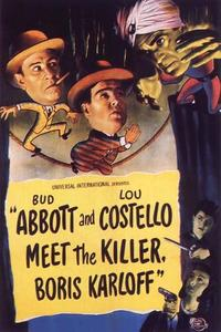 Watch Abbott and Costello Meet the Killer, Boris Karloff Online Free in HD