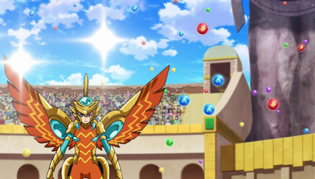 Puzzle & Dragons Cross Episode 38 Subtitle Indonesia