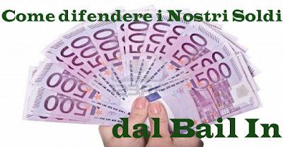 Bail In Banche italiane, rischi di un prelievo forzoso