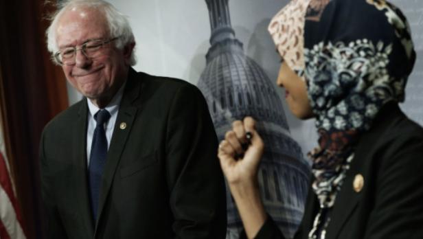 Bernie Sanders Slams Effort to Condemn Ilhan Omar