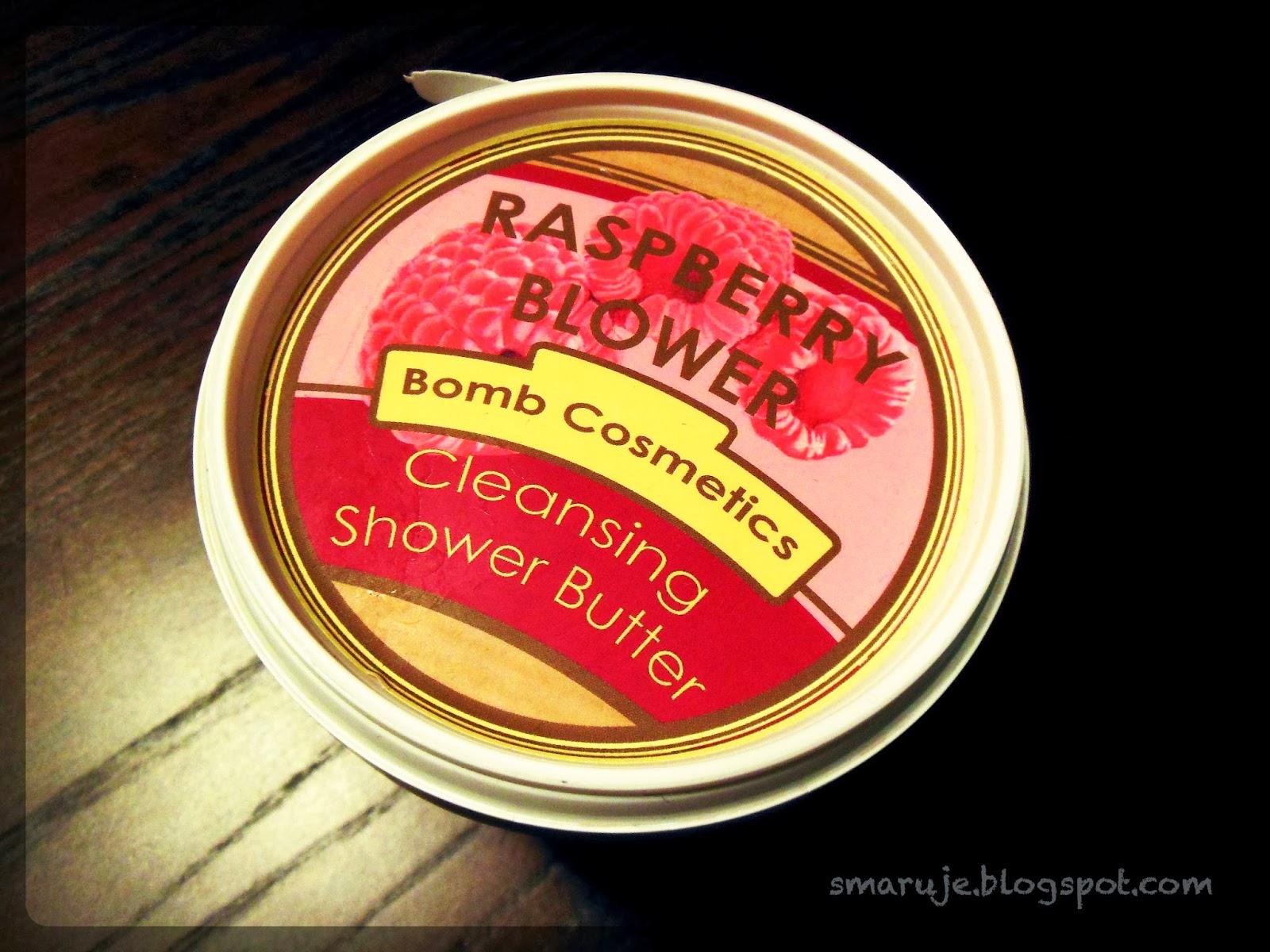 Bomb Cosmetics –Raspberry Blower, czyli malinowe masło do... mycia [recenzja]