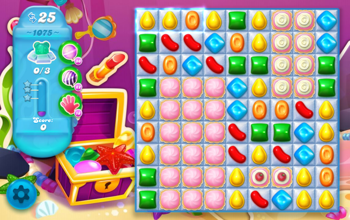 Candy Crush Soda Saga level 1075