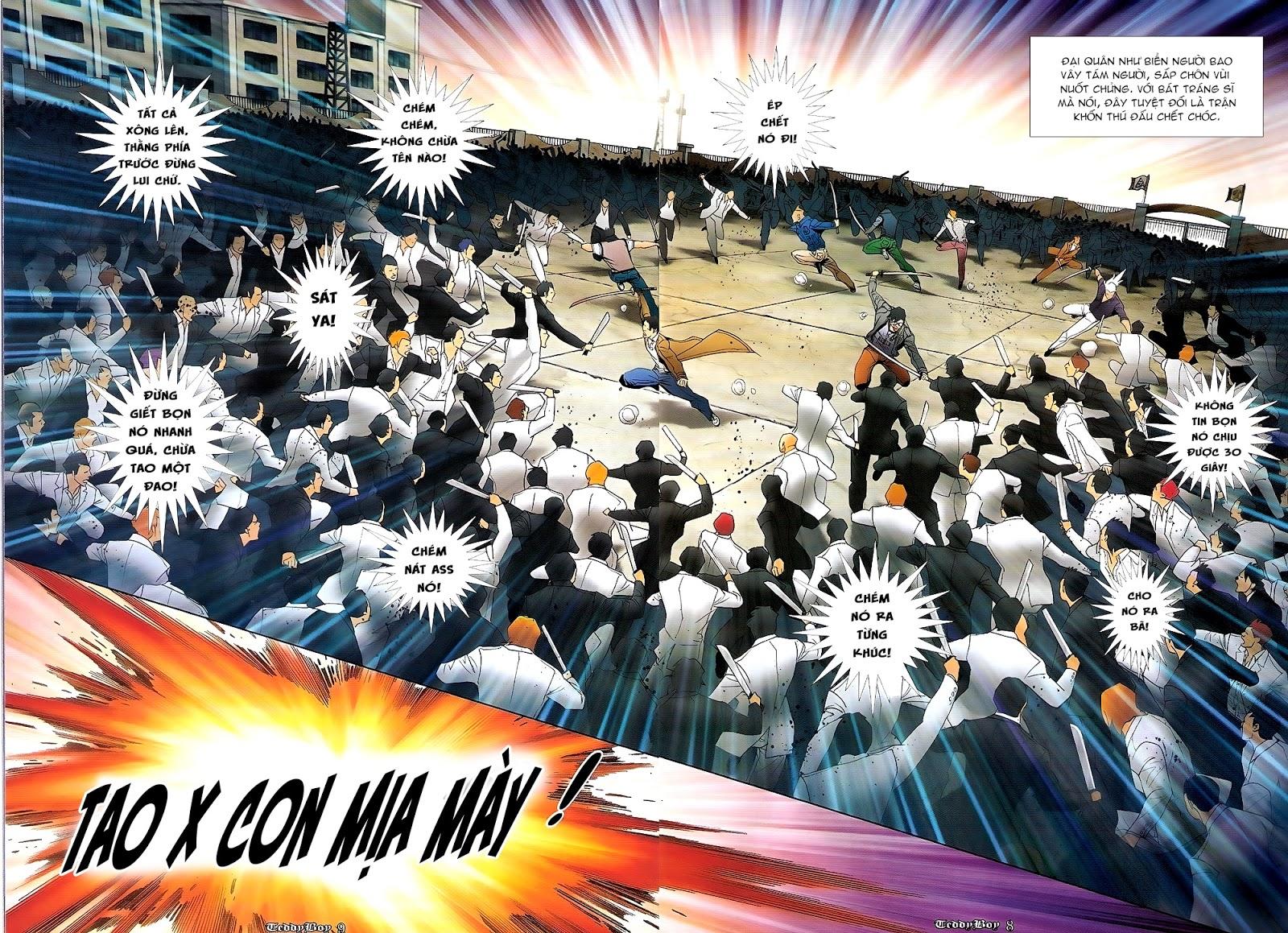 Người Trong Giang Hồ - Chapter 1220: Người đầu tiên lên đường - Pic 5