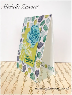 stampin' up! UK Graceful Garden naturally eclectic designer series paper dsp Watercolor Pencils  rose  flower  love mother's day