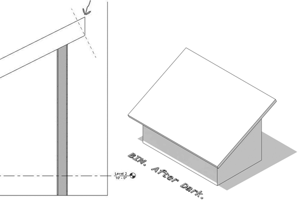 Revit Tutorial Shed Roof High Eave Detail Therevitkid