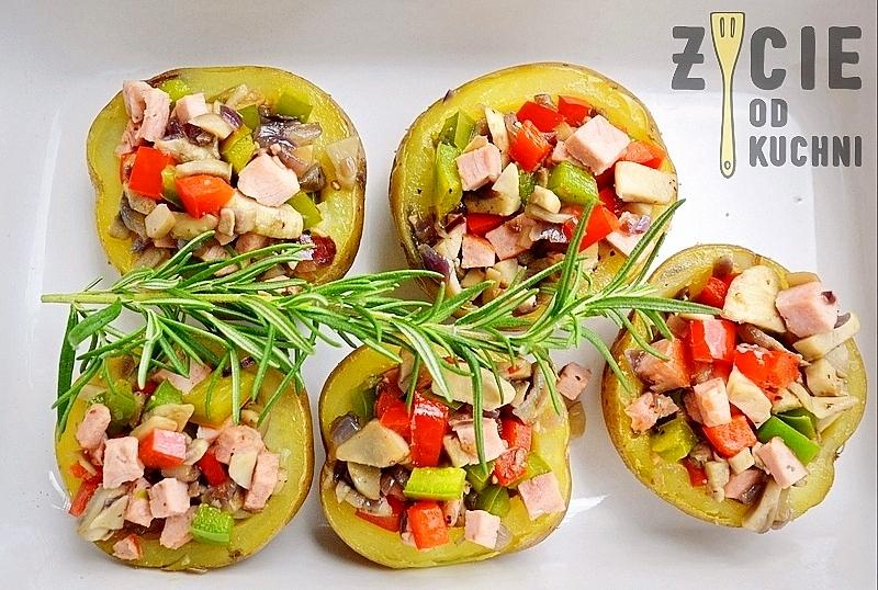 ziemniakifaszerowane,ziemniaki zapiekane,ziemniakipieczone,ziemniaki z piekarnika,malopolska, zycie od kuchni