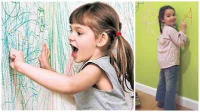 Como quitar manchas de crayon en la pared - Quitar manchas pared ...