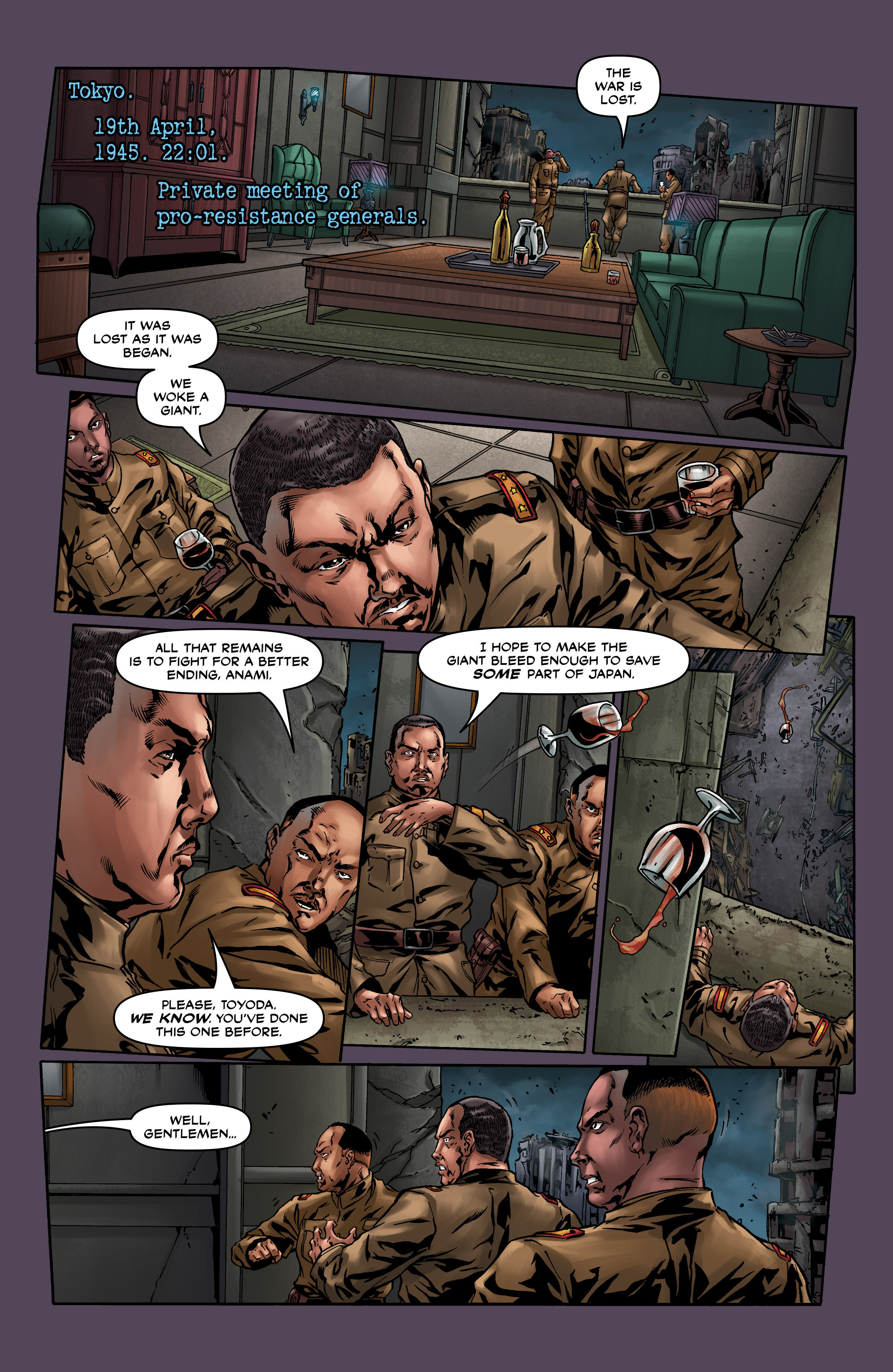 Read online Uber comic -  Issue #7 - 6