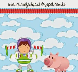 Etiquetas de Toy Story Bebés para imprimir gratis.