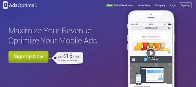 Ads Optimal ad network best for mobile platforms