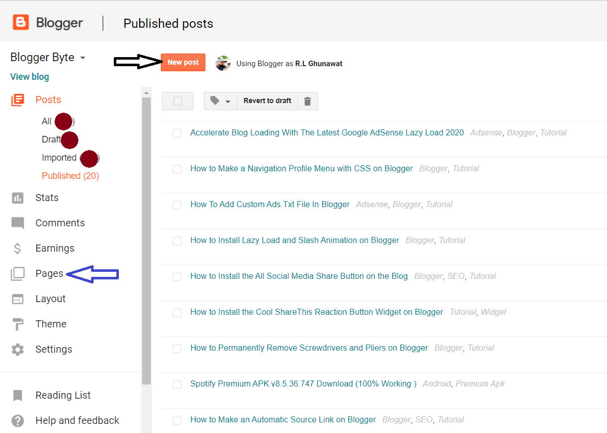 How to Make Safelink on the Main Blog