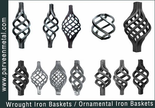 Wrought Iron Components And Ornamental Iron Hardware For