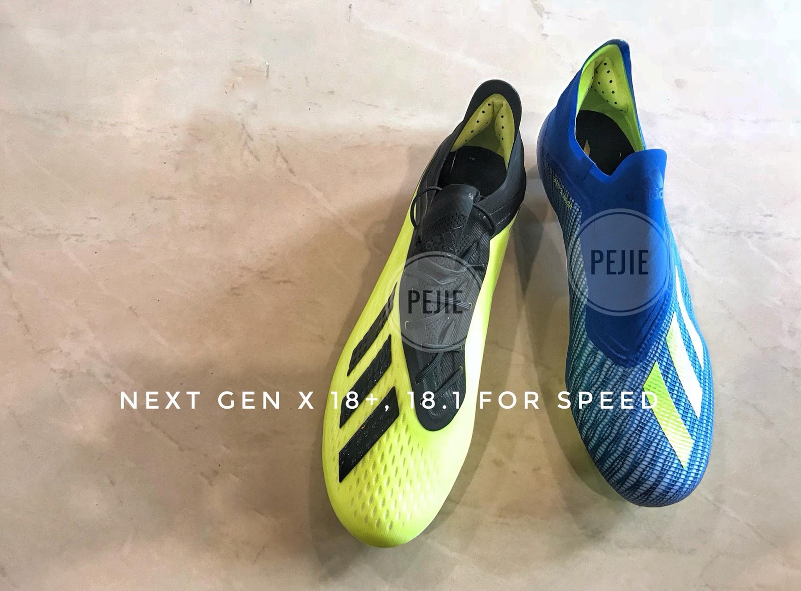 60fe711309d6 The release of the next-generation Adidas X football boot is just a few  days away. Now thanks to Malaysian boot experts sporthome14