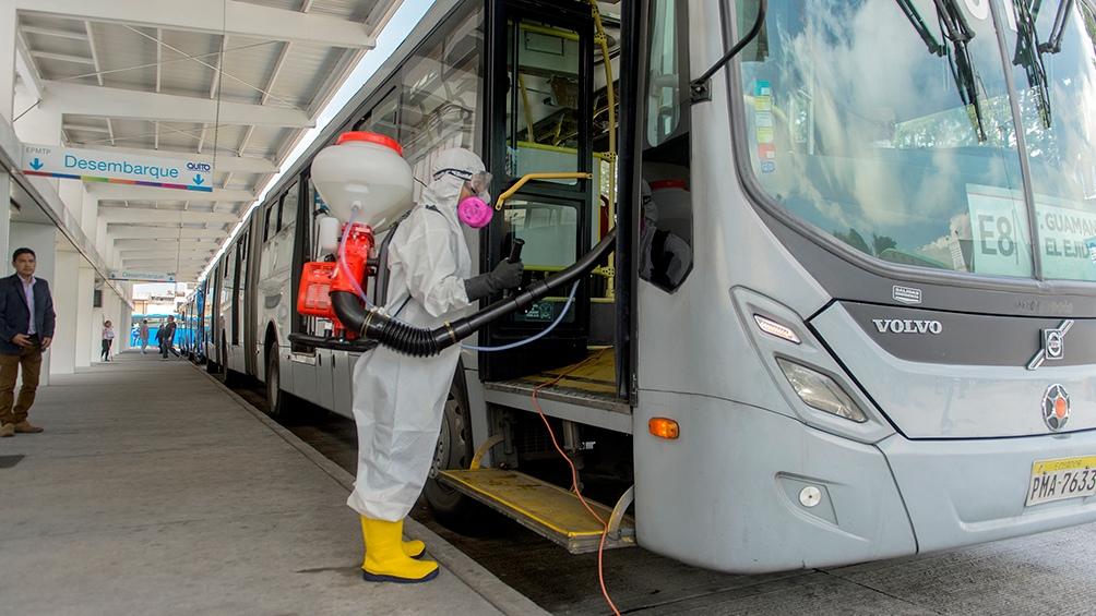 Abrió el aeropuerto de Quito luego de 75 días cerrado por la pandemia de coronavirus