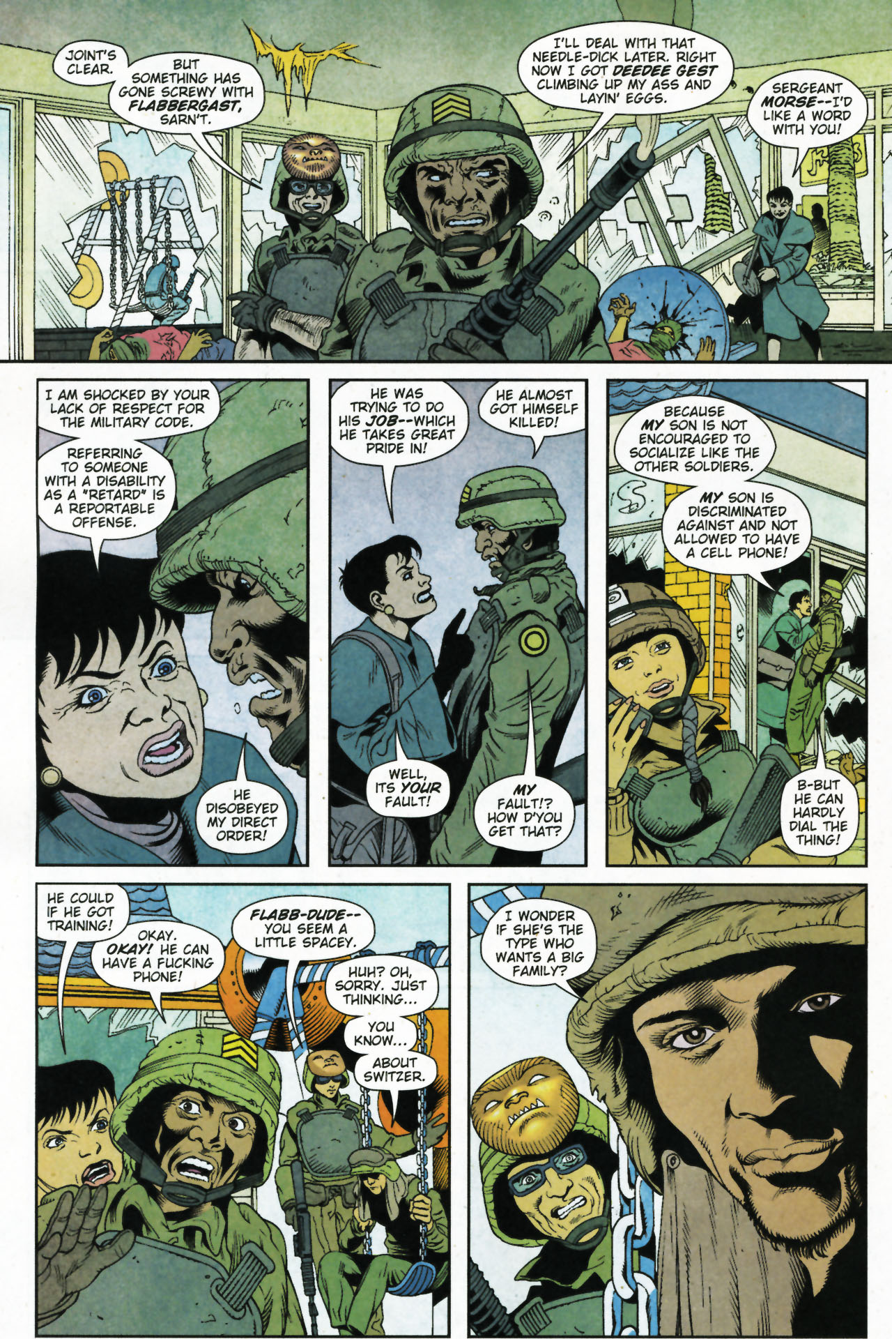 Read online Army @ Love comic -  Issue #4 - 19