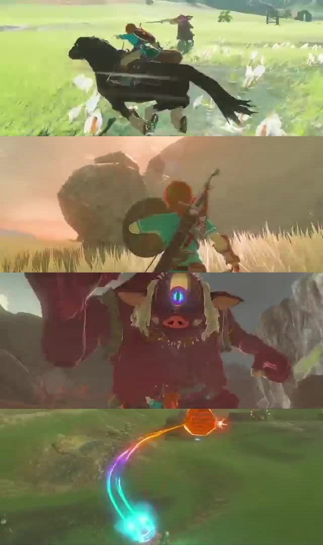65 UPCOMING NINTENDO SWITCH GAMES OF 2017, The Legend of Zelda Breath of the Wild