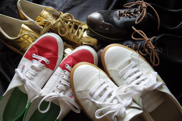 色々なスニーカー