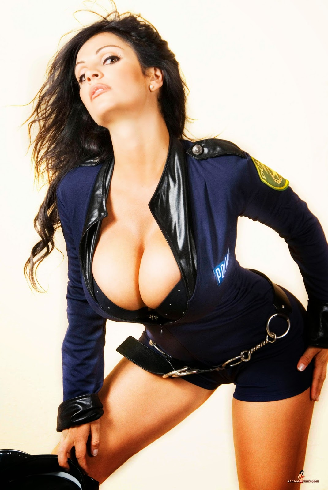 Denise Milani Cop