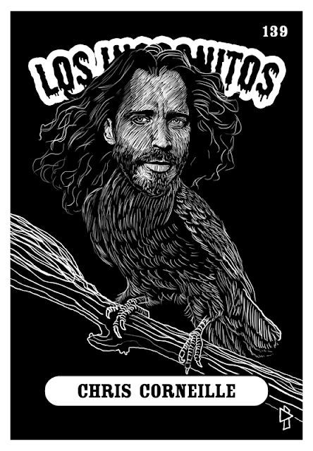 Gwen Tomahawk Los Incognitos Chris Corneille #139 Chris Cornell Portrait 2017