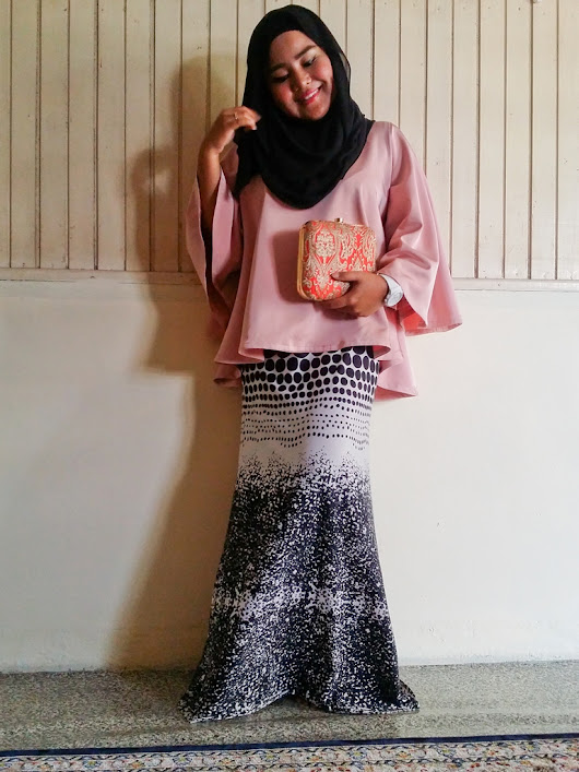 What So Sizzle Bout Sizzling Suzai - Malaysia Fashion, Travel and Lifestyle Blogger: Look #228 - #OOTD Eid 2016 Part 1