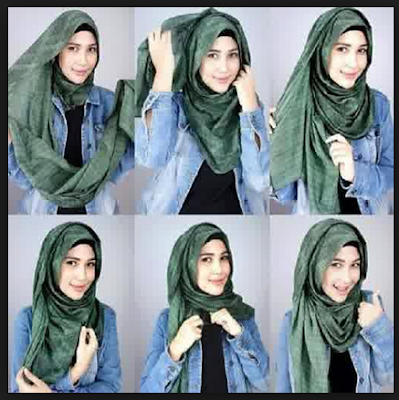 Tutorial Hijab Remaja Casual