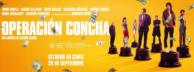 Operación Concha [CINE] Una farsa de engaños.