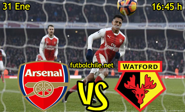 Ver stream hd youtube facebook movil android ios iphone table ipad windows mac linux resultado en vivo, online: Arsenal vs Watford
