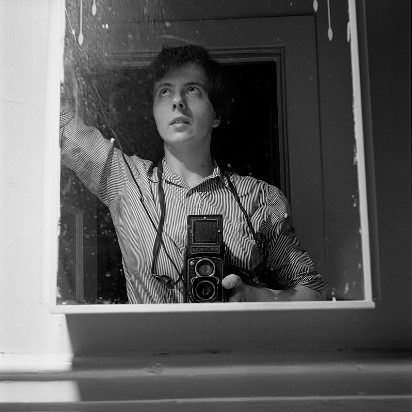 40 Amazing and Creative Self-Portraits by Vivian Maier ...