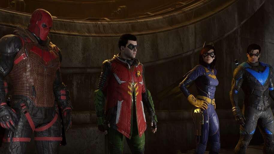Gotham Knights, Red Hood, Robin, Batgirl, Nightwing, 4K, #3.2561