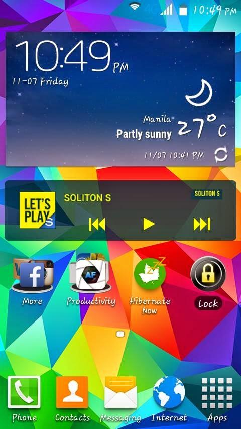 S4 Rom Screenshot 1
