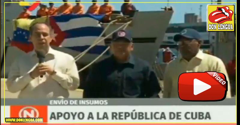 Maduro envió 100.000 kilos de ayuda humanitaria a Cuba por el tornado