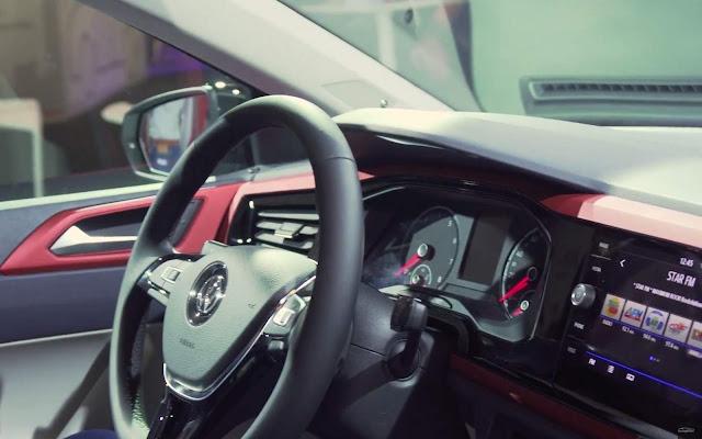 Novo VW Polo 2018 - painel analógico