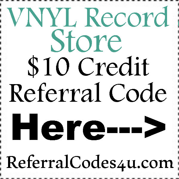 VNYL Record Store Invite Codes 2016-2017, VNYL Record Store Promo Codes July, August, September