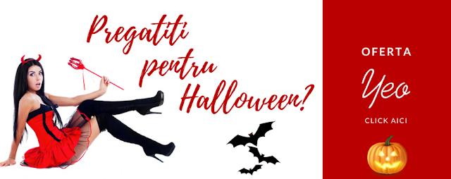 Oferta YEO.ro pentru Halloween!