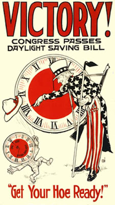 Victory! Congress Passes Daylight Saving Bill - Get Your Hoe Ready