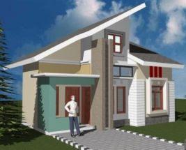 contoh foto atap rumah type 36