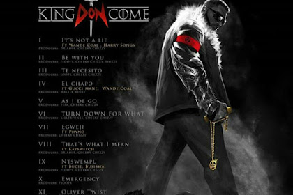 Dbanj Releases #KINGDONCOME Tracklist And Release Date