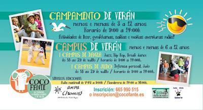 Campus de Verano en Vigo - COLEGIO CHOUZO