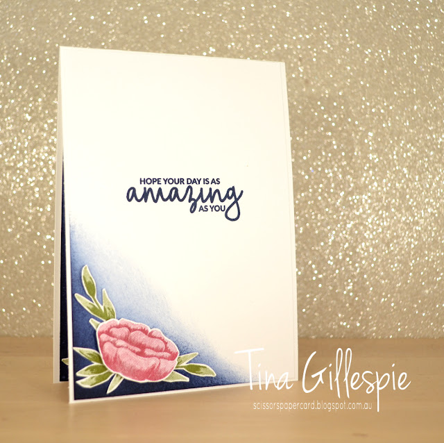 scissorspapercard, Stampin' Up!, Art With Heart, Colour Creations, Incredible Like You, Picture Perfect Birthday, Sponge Brayer