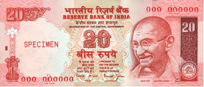 20rs Note