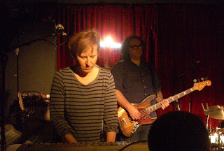 Georgia Hubley & James McNew of Yo La Tengo at Maxwell's