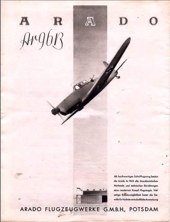Arado Fascist airplane ads worldwartwo.filminspector.com