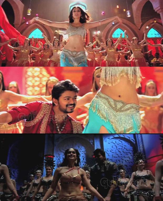 tamil cinema foto: vijay And Ileana Hot Belly Song Photos