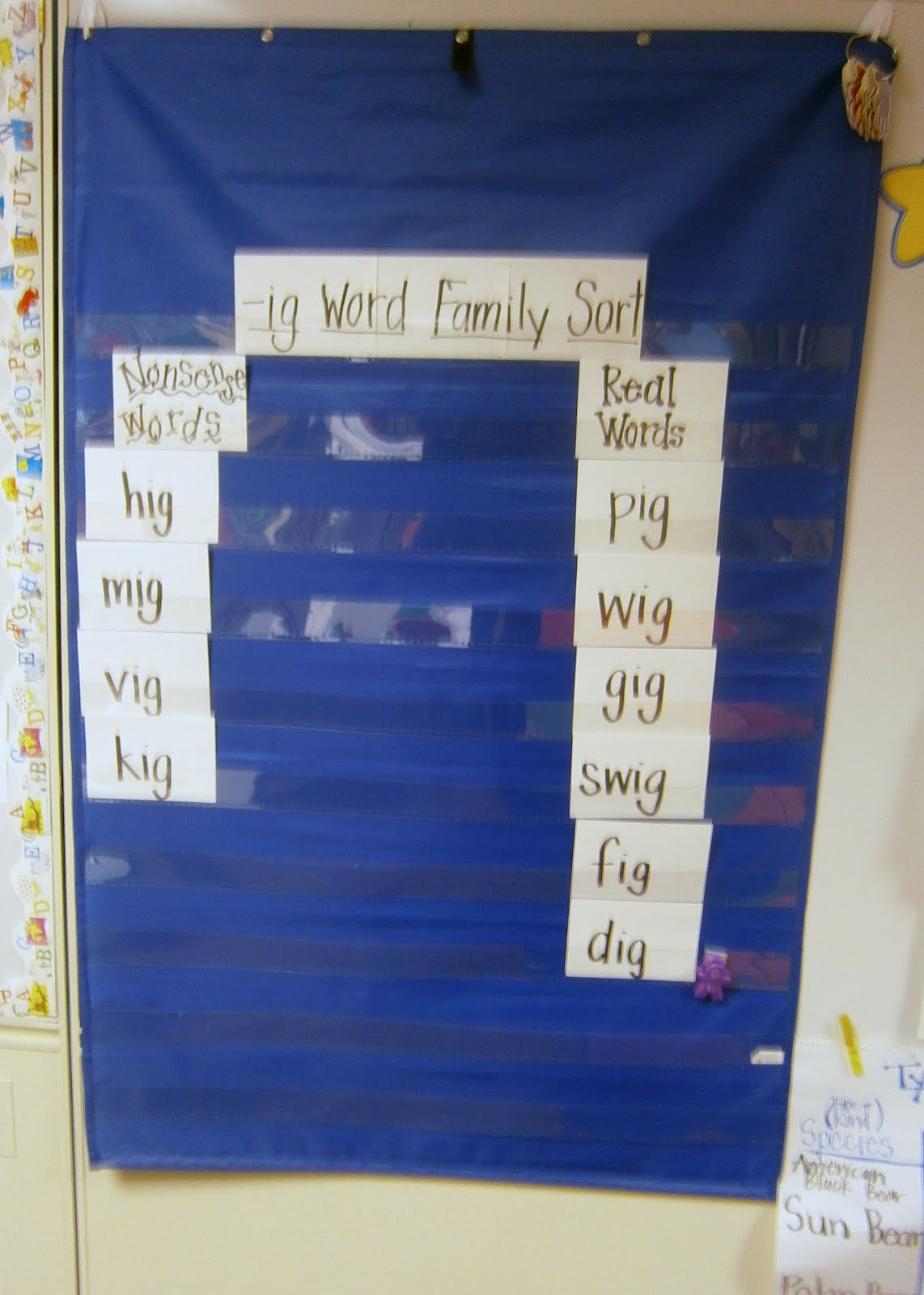 Kindergarten Kel Word Family Center