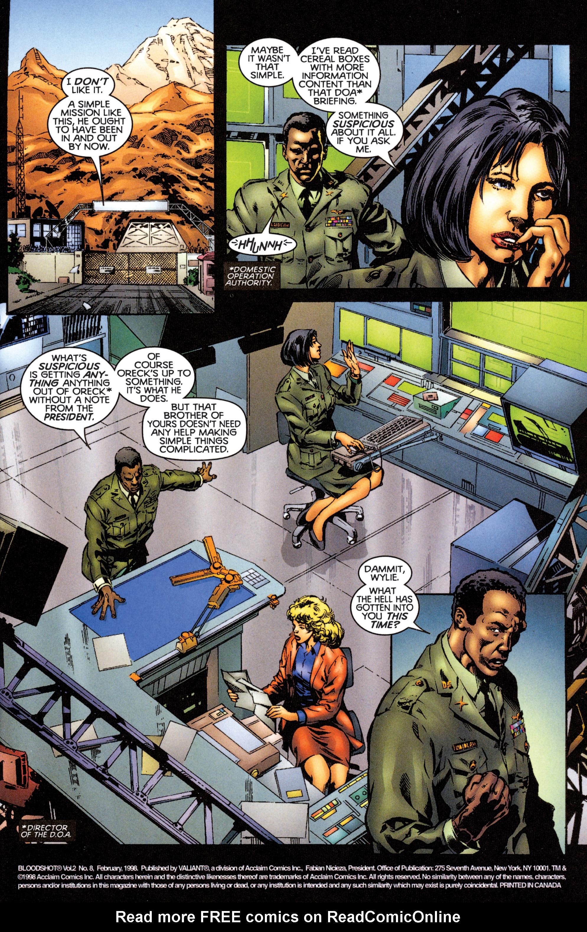 Bloodshot (1997) 8 Page 2