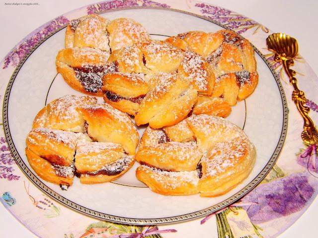 Błyskawiczne ciasteczka z nutellą.
